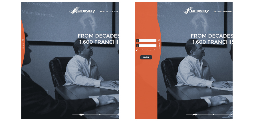 rhino7-does-a-website-redesign-login-panel-franchise-sales-development